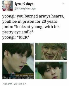 Even Yoongi is shook xD