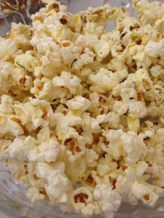 Garlic Herb Popcorn