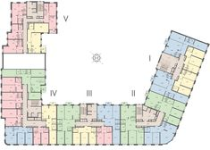 Apartment Plans, Futuristic Architecture, Floor Plans, House Design, Flooring, How To Plan, City, Building, Houses