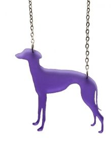 Clara chain purple -kaulakoru (19€)