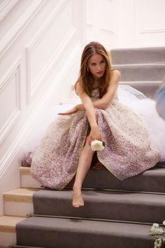 D�couvrir les visuels du making-of de la campagne Miss Dior Blooming Bouquet avec Natalie Portman.