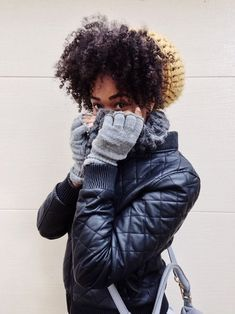 Hats are great to protect your curls from damage from the weather and keep you warm!