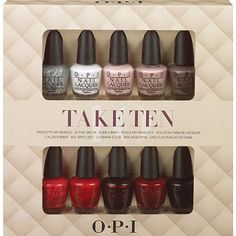 OPI polish set -- CHEAP price and great gift for the lady who doesn't go to the salon often.