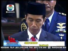 Pidato Kenegaraan Pertama Jokowi Sebagai Presiden Ke 7 Republik Indonesia