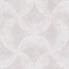 Vaalean harmaaseen taustaan on muodostettu tummemmalla harmaalla runsas, abstrakti ja graafisia muotoja käyttävä kuviointi. Tilaa edullisesti Taloon.comista!