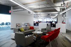 Tour SquareTrade's Unifying Open Plan Offices | California Home + Design