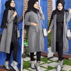 #hijabi #hijabdaily #hijabstyle #hijabinspiration #muslim #hijaber #hijaboutfit #tesettür #şal #muslimah #hijab #حجاب #abaya #hijab #hijabstyle #hijabfashion - just4girls Stylish Hijab, Casual Hijab Outfit, Hijab Dress, Hijab Style, Hijab Chic, Muslim Fashion, Hijab Fashion, Fasion, Baggy Clothes