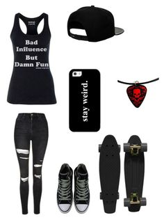 """Untitled #108"" by darksoul7 ❤ liked on Polyvore featuring Retrò, Converse, '47 Brand, Topshop and Casetify"