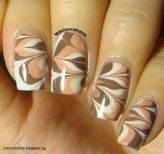 Watermarble by colorsfrenzy - Nail Art Gallery nailartgallery.nailsmag.com by Nails Magazine www.nailsmag.com #nailart