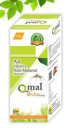 Qmal Veda Syrup - Effective Anti malarial Ayurvedic Medicine Acute & Chronic fever and malaria including plasmodium vivax and plasmodium falciparum