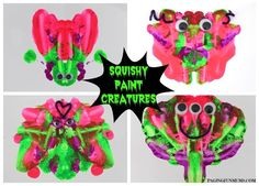 Squishy Paint Creatures