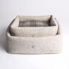 Cloud7's newest dog bed, the Little Nap, is made from 100% wool felt.