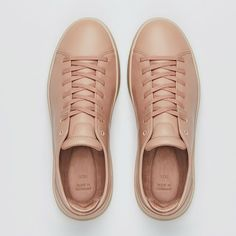 The Rosé Sneakers, minimalistic and carefully designed products that resemble classic shoe styles with yet contemporary twists. Sneaker Brands, Twists, Highlights, Kicks, Louis Vuitton, Footwear, Contemporary, Classic, Sneakers