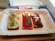 Sisters, chlebíčky Praha, Prague, Czech Republic — by Erin Potrzebowski. If you are looking for a light lunch or snack in Prague, this place fits the bill!! Farm fresh food and very...