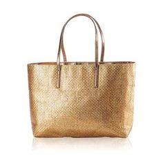 Breezy Tote Bag Gold colour bag