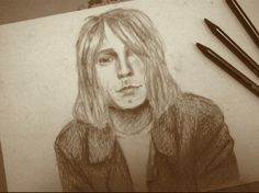 Kurt Cobain. I upload this on the 20. february, the day of Kurt's 50th birthday. We all miss you Kurt. Happy Birthday