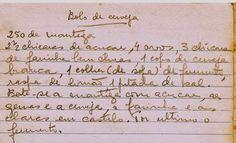 As Receitas da Avó Helena e da Avó Eduarda: Bolo de Cerveja
