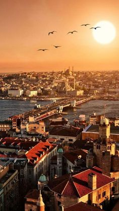 Istanbul, Turkey - a unique city that spans 2 continents at once, with the Bosphorus Strait separating Europe and Asia