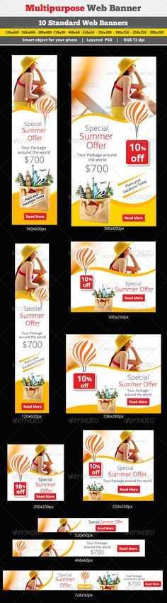 Travel Web Banner Template PSD | Buy and Download: http://graphicriver.net/item/travel-banner/7035594?WT.ac=category_thumb&WT.z_author=surajkhatri&ref=ksioks