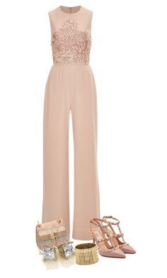 """""""Untitled #1077"""" by ladygroovenyc ❤ liked on Polyvore featuring Elie Saab, Chloé, Valentino and Sole Society"""