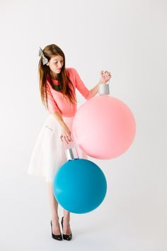 Best Ever!!!   How-To: Giant Balloon Ornaments