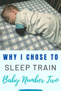 Why I chose to sleep train my second baby early for both naps and night time sleep and how I did it. Sleep training doesn't have to be intimidating. Don't let the mom guilt stop you from improving your mental health. Crying It Out Method, Cry It Out, Toddler Sleep, Baby Sleep, Every Mom Needs, Six Month, Get Baby, Sleeping Through The Night, Baby Development