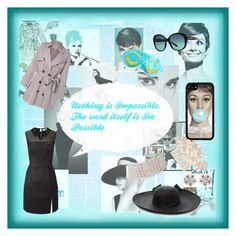 """💙 Modern Audrey 💙"" by trinity-reece ❤ liked on Polyvore featuring Casetify, Amanti Art, Miss Selfridge, Marina J., Sensi Studio, Tiffany & Co. and modern"