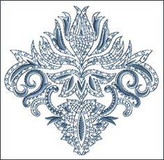 Motif 15 embroidery design