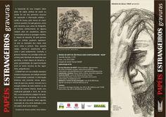 Folder Papéis Estrangeiros (frente) | Coordenação editorial: .comunique | Design: Álvaro Felippe Jr.