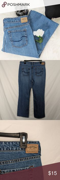 "Levi's Midrise Bootcut Jeans Levi's Midrise Bootcut Jeans Condition: Excellent, no holes or stains. All items come from a smoke free and pet free home.  Hip to Hip: 17""  Hip to inseam: 11""  Inseam: 29""  Ankle: 9""  Size: 14  I want to get rid of these items so please feel free to send me an offer. I will always counter or accept any and all offers, including lowball offers. Also comment if you would like me to add you to my taglist stay updated with new arrivals! Happy Poshing.  Inventory…"