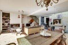 Une maison bohème chic à Bordeaux