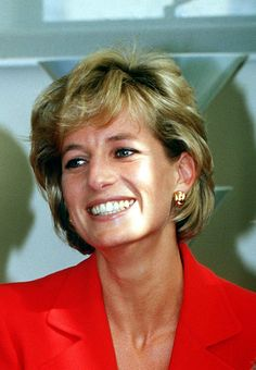 Lady Diana has such a beautiful smile.
