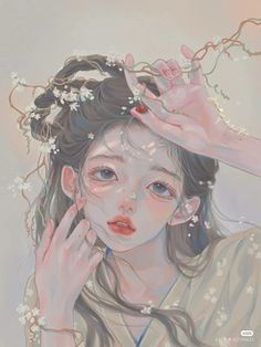Chinese Drawings, Art Drawings, Anime Princess, China Art, Beautiful Anime Girl, Cover Pics, Ancient Art, Cute Art, Art Girl