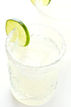"""This Gin Margarita Recipe (a.k.a. """"Margartini"""") is made with 3 easy ingredients, and it's a delicious twist on this Mexican cocktail (traditionally made with tequila)."""
