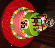 80's Birthday Cake...