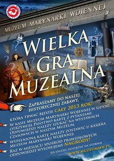 Strona Muzeum Marynarki Wojennej w Gdyni.