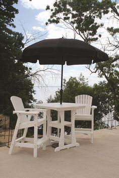 Perfect Choice Outdoor Furniture Bar Height Table - Shown chairs and accessories sold seperately - Ships Within 7 to 10 Business Days Reclaimed Wood Furniture, Diy Pallet Furniture, Diy Pallet Projects, Furniture Projects, Pallet Ideas, Outdoor Furniture, Garden Furniture, Wood Projects, Outdoor Bar Table