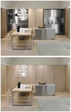 Spatia hideaway kitchen by Italian company Arclinea.