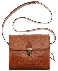Patricia Nash Tooled Dante Crossbody - Handbags & Accessories - Macy's