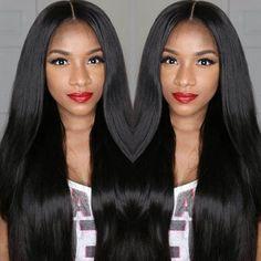 7A Brazil straight Full/Front Lace Human Hair Wigs Nhân Tóc Giả Tóc Tự Nhiên Chân Tóc Với Bé Tóc Thẳng Brazil tóc giả