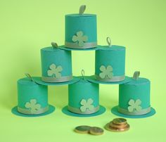 Leprechaun Hat Favor DIY - Oh Happy Day!