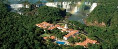 Belmond Hotel das Cataratas - Iguassu Falls Hotel  The only hotel in the State Park at the falls.  A ten-day stay is less than rent in San Francisco.  Just sayin'.  Lol.  Can't wait to see this place.