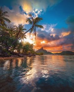 Mesmerizing Landscapes of Bora Bora by Mick Gow #photography