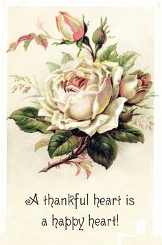 From the-feathered-nest.blogspot.com.  A thankful heart ~