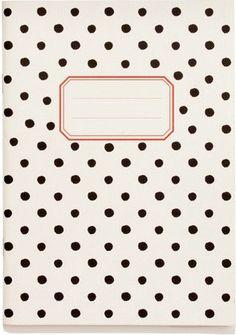 Polka Dot A5 Notebook