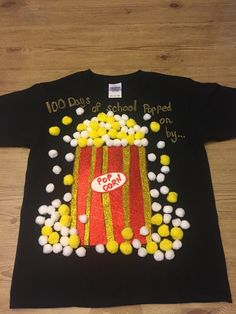 100th Day of school Shirt. Super easy to make!!