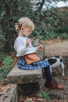Handmade Little Girls Petite Hip Hugger Belt Bag | AliJaneandCompany on Etsy