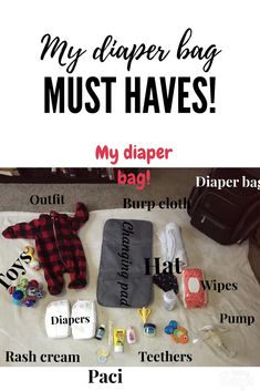 What on earth goes in a diaper bag? Check out this blog for some diaper bag packing tips! #diaperbag #daytrips #packing