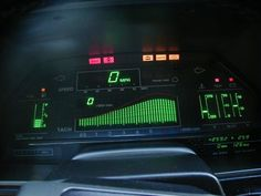 1983 datsun 280zx display