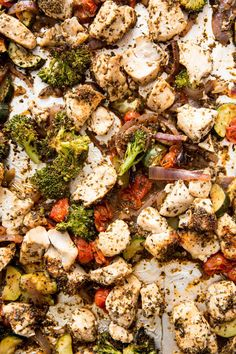 Sheet Pan Italian Chicken Meal Prep Bowls